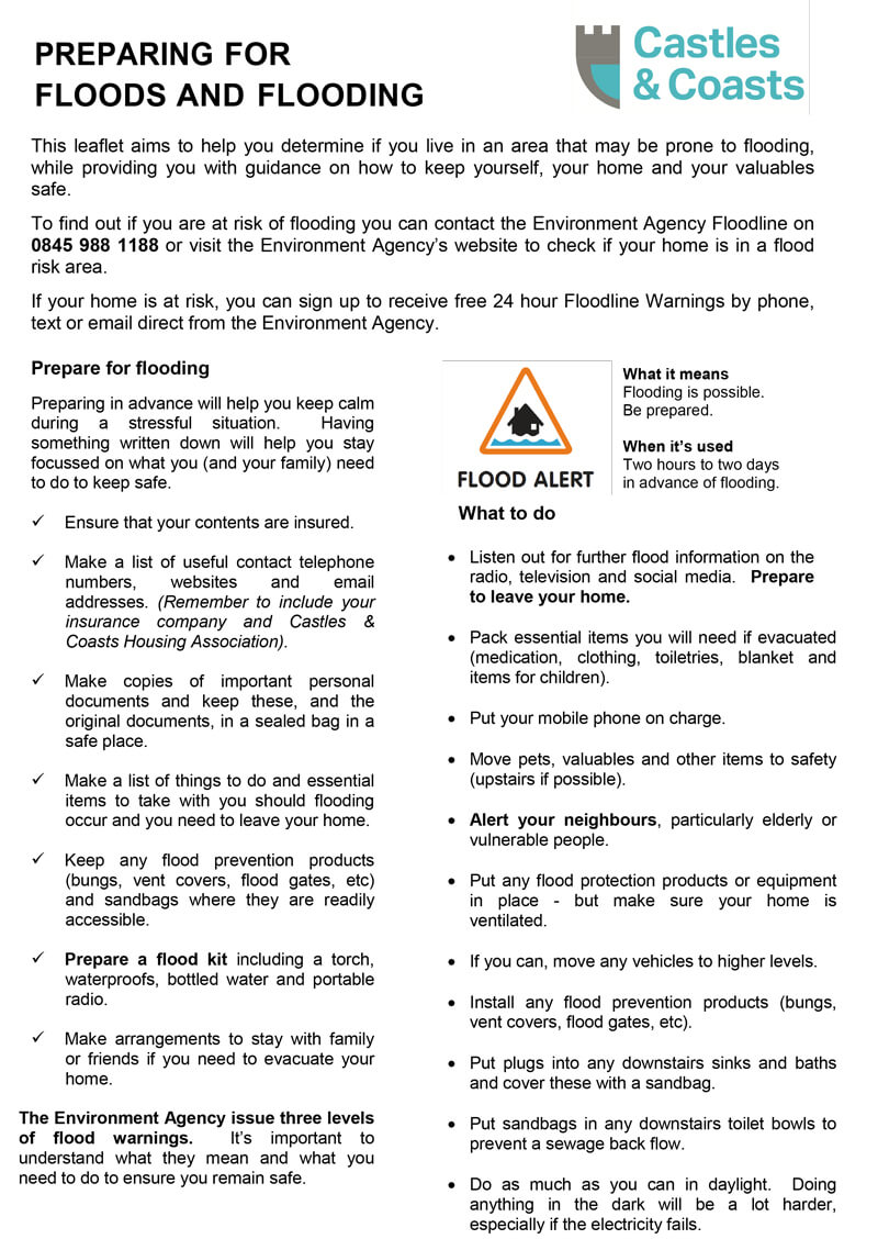 CCHA Flood Leaflet